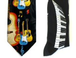 Music Socks, Ties, Scarves, Hankies and Bow Ties