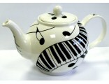 Music Design Teapots, Teatowels, Aprons and Placemats