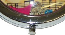 Music Compact Mirrors and Treble Clef Thimbles