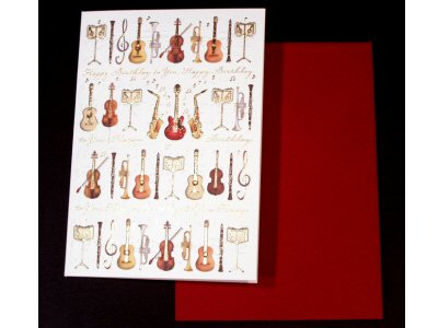Birthday Instruments Card