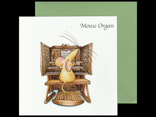 Mouse Organ Card