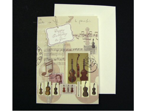Birthday Card Bellini Instruments