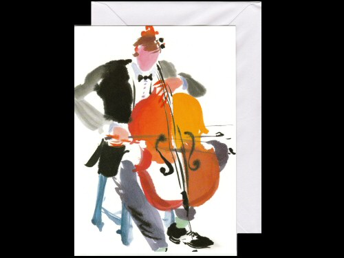 Cellist Card