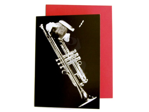 Louis Armstrongs Trumpet Card
