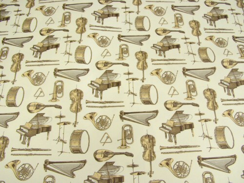 Orchestral Instruments Giftwrap