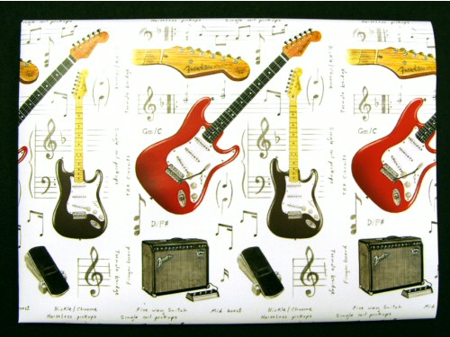 Electric Guitar Design Giftwrap