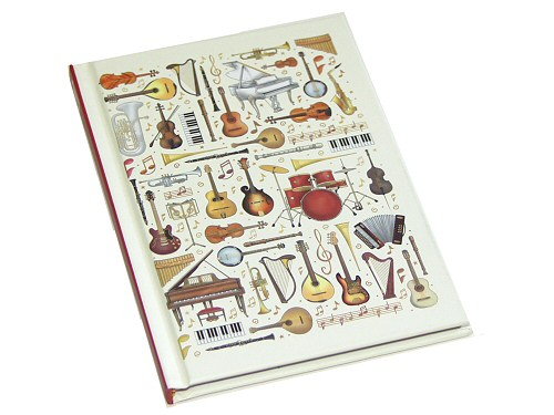 Musical Instruments A5 Notebook