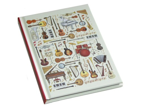 Musical Instruments A6 Notebook