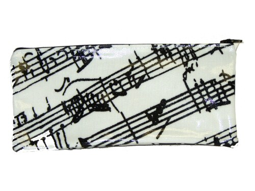 Music Manuscript Design PVC Pencil Case