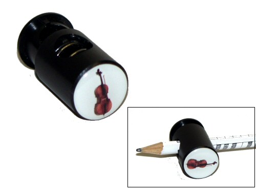 Magnetic Pencil Clip Cello Design