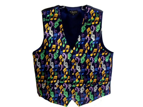 Colourful Notes Waistcoat