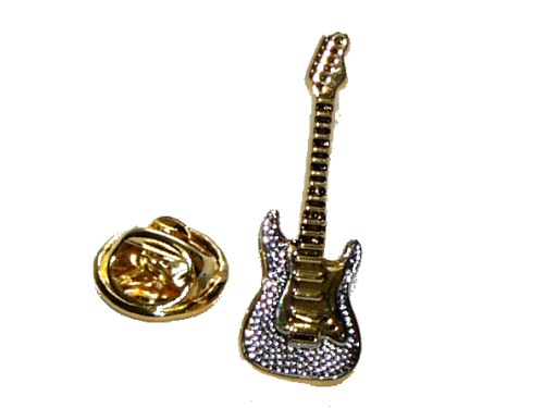 Electric Guitar Lapel Pin