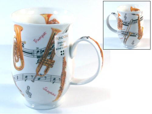 Dunoon Suffolk Instrumental Brass Instruments Mug