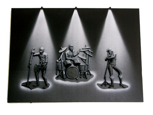 3D Band Large LED Picture