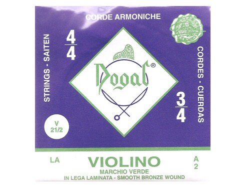 Dogal Green Violin String A - Full Size