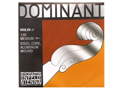 Dominant Violin String E 130 Medium