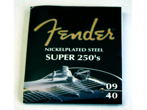 Fender Super 250XL Electric Guitar String Set