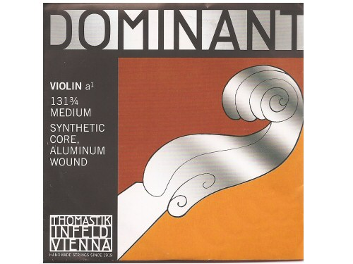Dominant Violin String A 131 3/4 Size Aluminium Wound