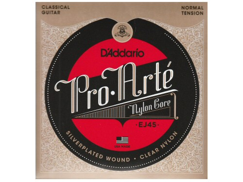 DAddario Pro-Arte Classical Guitar EJ45 Normal Tension Strings Set