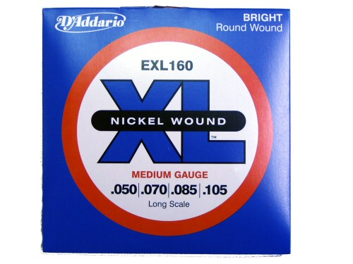 DAddario EXL160  50-105 Long Scale Bass Guitar Strings