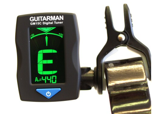 Guitar Man GM15C Clip-on Chromatic Tuner