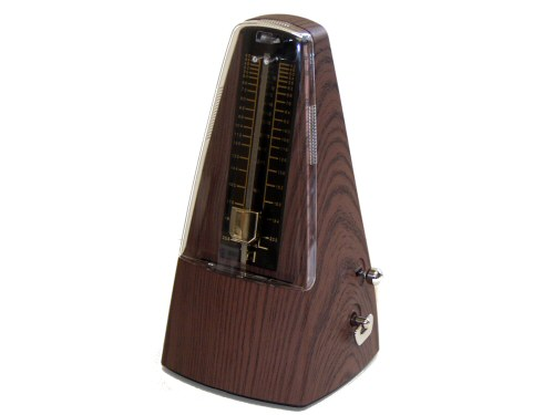 TGI Wood Effect Pyramid Metronome