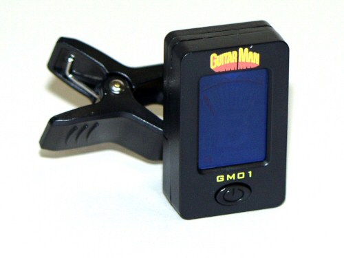 Guitar Man GM01 Clip-on Chromatic Tuner