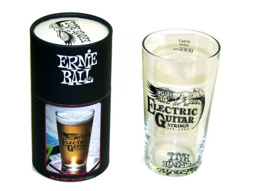 Ernie Ball Pint Glass