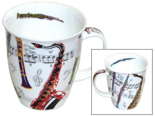 Dunoon Nevis Tempo Woodwind Mug