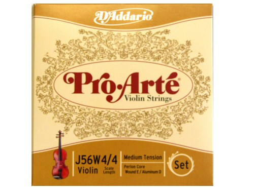 DAddario ProArte Violin String Set J56W 4/4 Medium