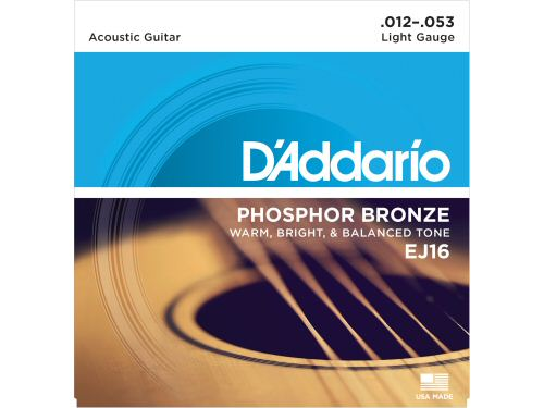 DAddario EJ16 Phosphor Bronze Light Set