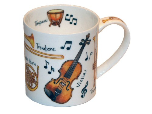 Dunoon Orkney Musical Instruments Mug - B095Z0