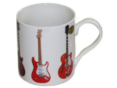 Electric Guitars Design Mug