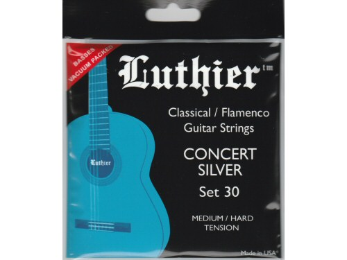 Luthier Concert Silver Classical Guitar Strings