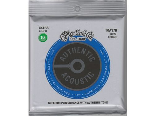 Martin MA170 Bronze Acoustic Guitar Strings Extra Light