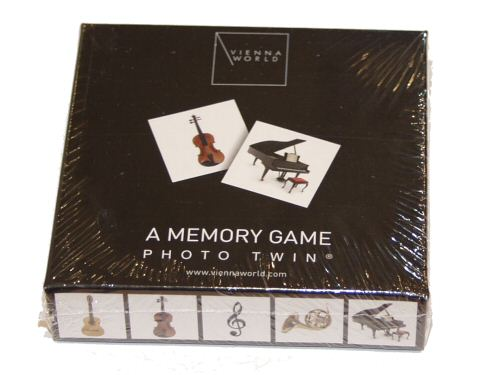 Musical Instruments Memory Game