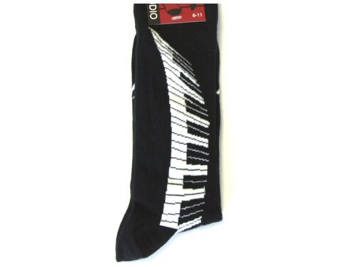 Piano Keyboard Socks