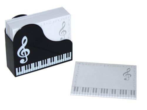Piano Memo Note Set