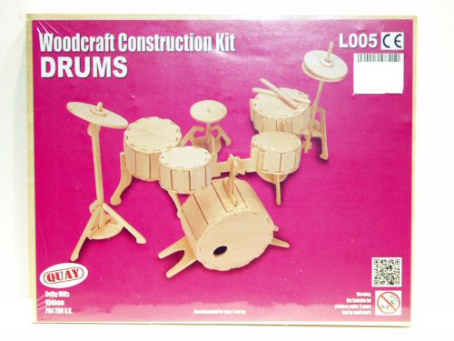 Woodcraft Construction Kit Drums