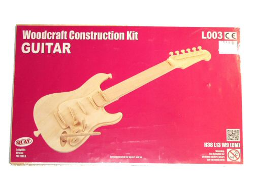 Woodcraft Construction Kit Guitar