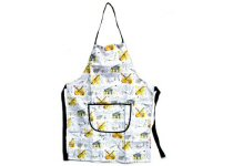 Music Design Aprons With Guitar Piano Violins