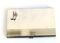 Music Design Business Cards Holders