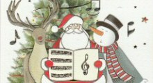 Music Design Christmas Cards