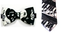 Music Clothing, Ties, Socks, Scarves
