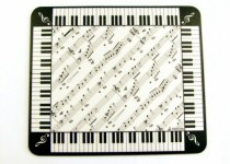 Music, Piano and Drum Design Mousemats