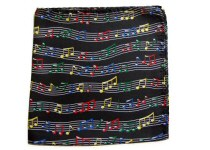 Music Design Handkerchiefs