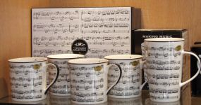 Music Kitchenware, Glassware & Mugs