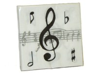Music Design Paper Napkins