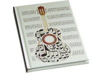 Music, Guitar and Piano Design Notebooks