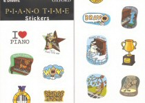 Music, Piano and Violin Stickers